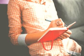 Kontaktsperre durchhalten mit Schreiben