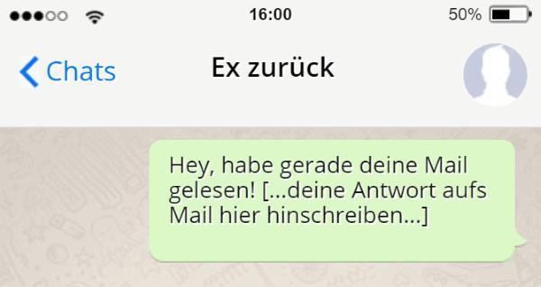 Ex freundin ändert ständig whatsapp status
