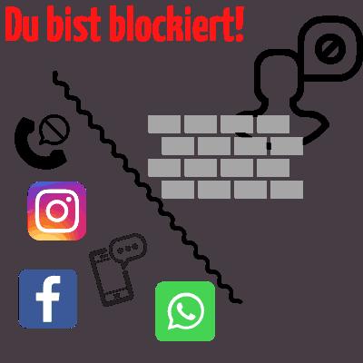Wer hat blockieren blockiert instagram mich Hilfe, Ex